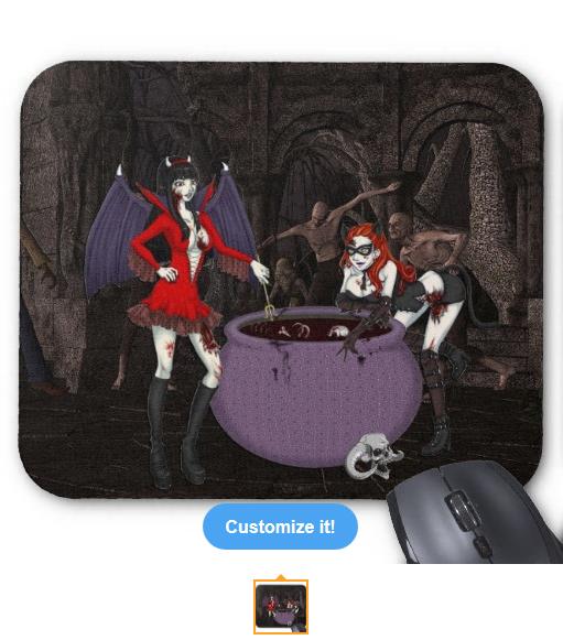 Antoinette & Katerina Mousepad