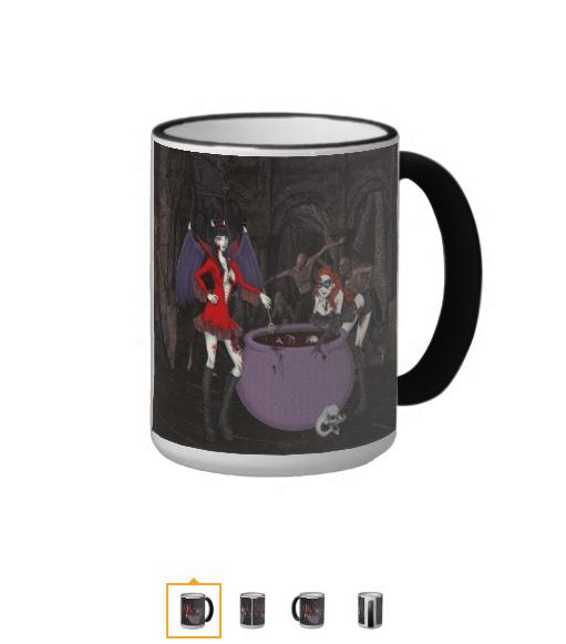 Antoinette & Katerina Ringer Mug