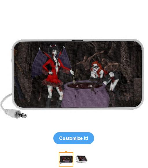 Antoinette & Katerina Portable Speaker