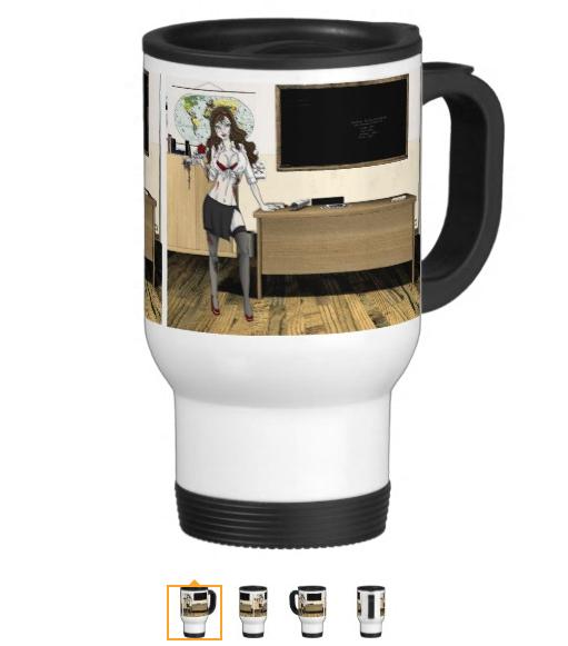 Charlotte: Travel Mug