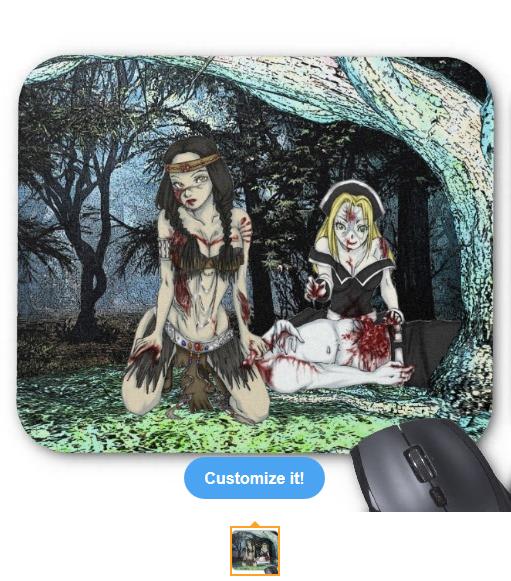 Kaliska & Chastity Mousepad
