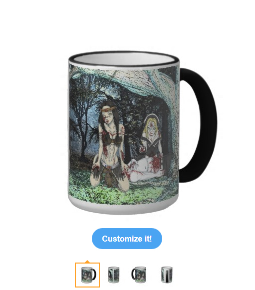 Kaliska & Chastity Ringer Mug