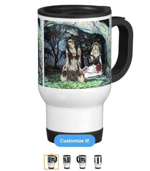 Kaliska & Chastity Travel Mug
