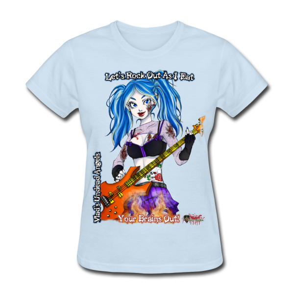Zombie Ashley Woman's Tee by Enforcer Designs