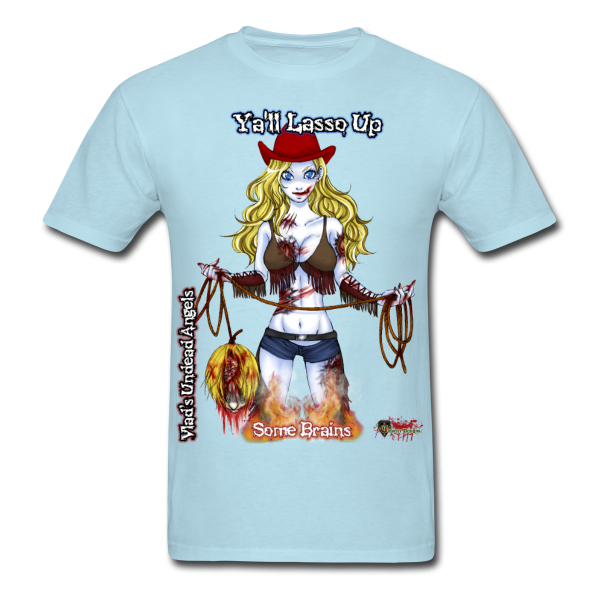 Zombie Cassidy Men's Tee by Enforcer Designs