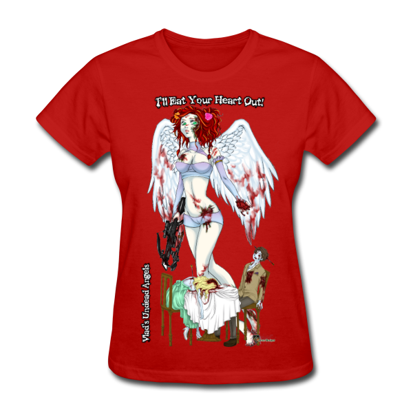 Zombie Scarlet Woman's Tee by Enforcer Designs