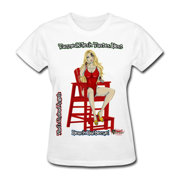 Zombie Shay Woman's Tee by Enforcer Designs