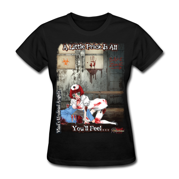 Zombie Abigail Woman's Tee by Enforcer Designs