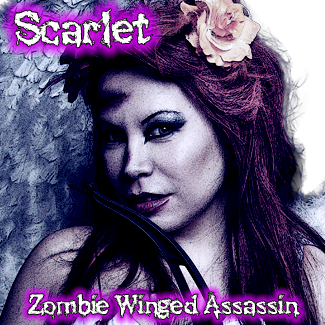 Scarlet:<br>Zombie Winged Assassin