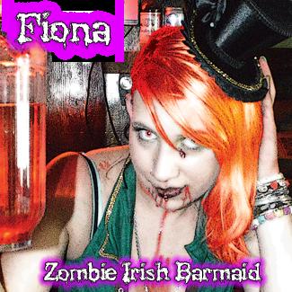 Fiona: Zombie Irish Beer Maid
