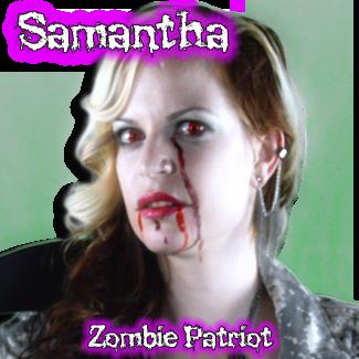 Samantha: Zombie Patriot
