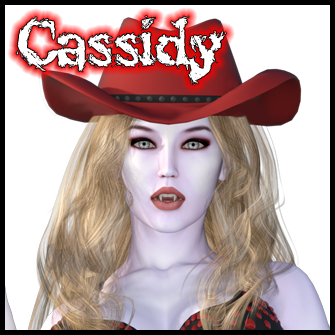 Cassidy:<br>Zombie Cowgirl