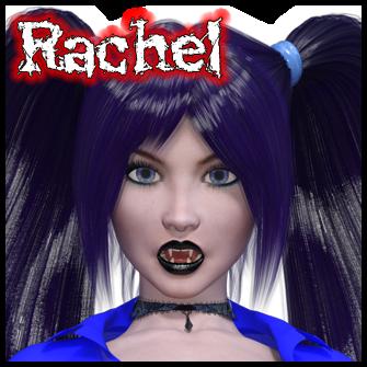 Rachel:<br>Zombie School Girl