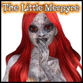 The Little Merpyre: Vampire Mermaid