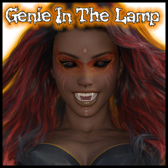 The Vampire Genie In The Lamp