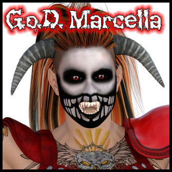 Undead Wrestler<br> Gladiators Of Death Marcella
