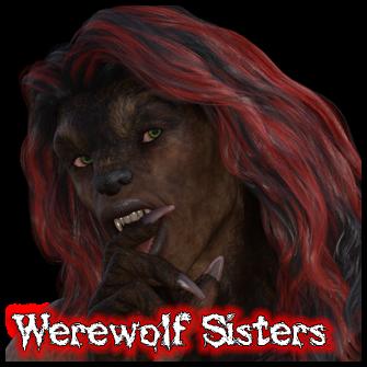 Werewolf Wrestling Sisters