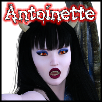 Antoinette:<br>Zombie Gal In Devil Costume