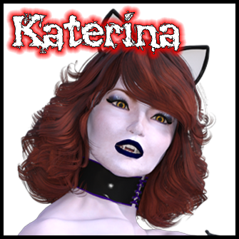 Katerina:<br>Zombie Gal in Cat Girl Costume
