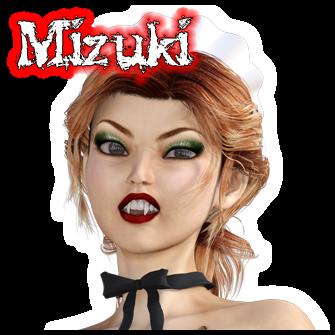 Mizuki:<br>Undead Maid