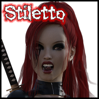 Stiletto<br>Undead Samurai