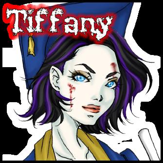 Tiffany:<br>Zombie Graduate