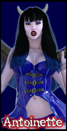 Antoinette:<br>Undead Angel<br>Scream Queen