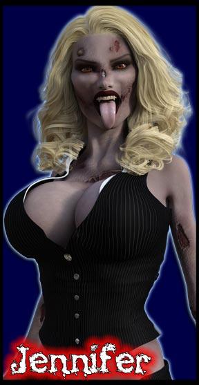Jennifer:<br>Zombie Administrative Assistant
