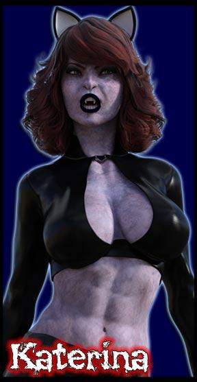 Katerina:<br>Undead Angel<br> Scream Queen
