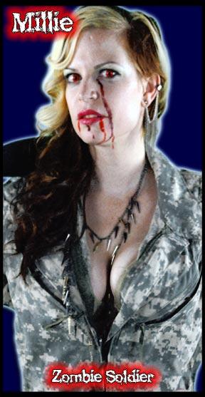Millie: Zombie Soldier