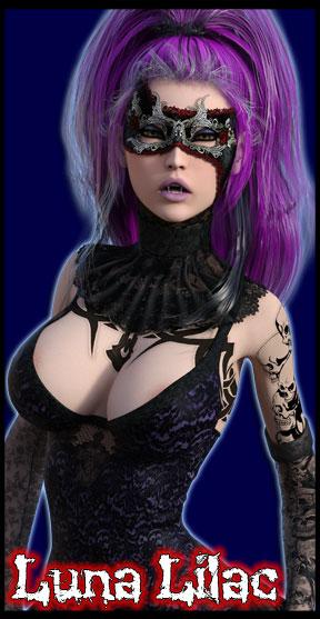 Luna Lilac<br>Undead Angel<br>Organist & Keyboardist
