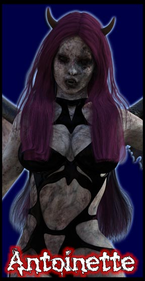 Antoinette:<br>Undead Angel<br>Scream Queen