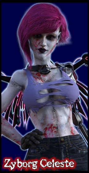 Zyborg Celeste<br>Undead Cybernetic Organism
