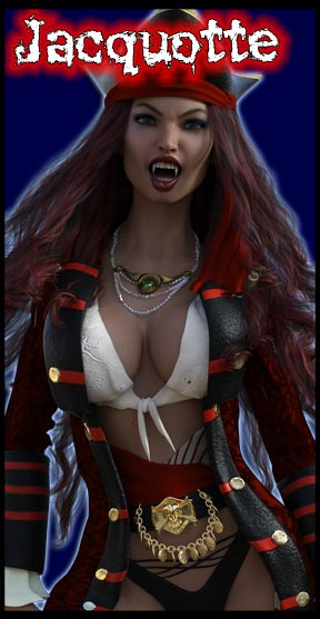 Jacquotte:<br>Vampire Pirate Captain