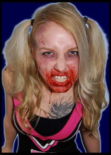 Buffy Zombie Cheerleader