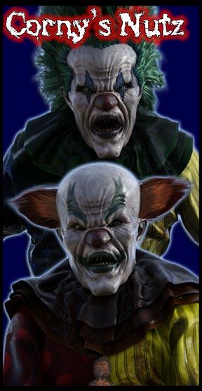 Corny Horny's Nutz:<br>Dwarf Demonic Clowns