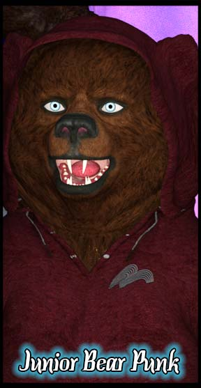 Little Bear Punk Ass