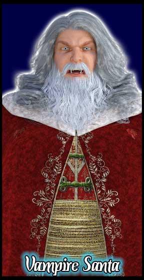 Vampire Santa Klaus