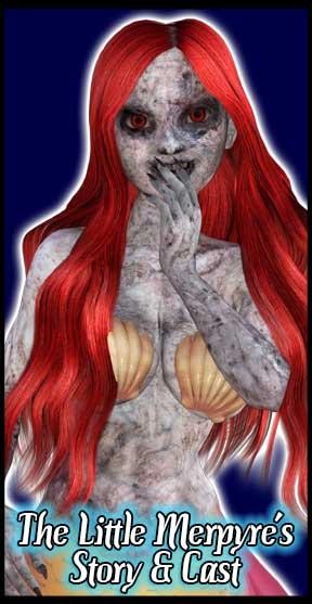 The Little Merpyre: Vampire Mermaid