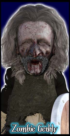 Geddy The Dwarf Undead